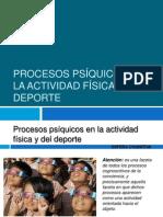 Procesos Psiquicos de La Actividad Fisica y Del Deporte