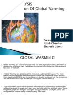 Global Warming case study