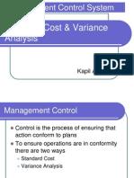 MCS Standard Cost Variance Analysis 12sep