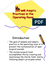 Asepsis and Aseptic Practices in the Operating Room