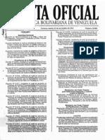 Gaceta 39805 (Estudio Comparativo de Tdc Octubre 2011) 22-11-2011