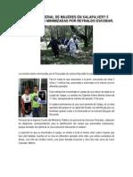 Asesino Serial de Mujeres en Xalapa