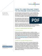 How to Use Online Video to Increase Conversions