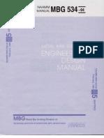 Design Manual MBG 534 94