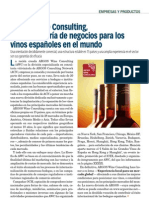 Noticia sobre Argos Wine Consulting