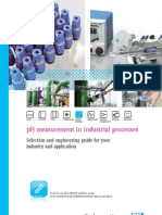 pH Measurement in Industry Processes