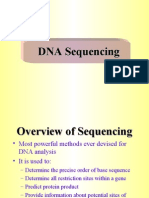DNA Sequencing-4th Level