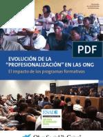 Evolución de la profesionalización en las ONG. El impacto de los programas formativos