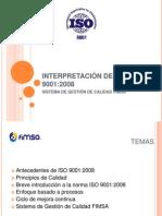 INTERPRETACIÓN DE  ISO 9001
