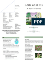 Western New York; Rain Garden How to Guide