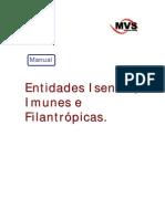 Manual Entidades Isentas, Imunes e Filantrópicas