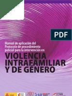 Procedimiento policial en violencia intrafamiliar y de género
