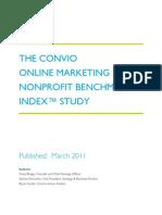 Convio Online Nonprofit Benchmark™ Study 2011