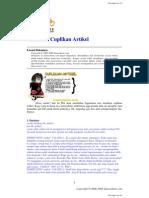 Membuat Cuplikan Artikel pada PHP