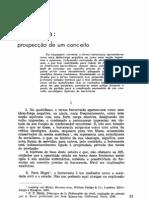 Burocracia prospecção de um conceito
