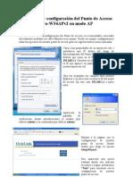 EVO-W54APV2 Instalacion y Configuracion en Modo AP