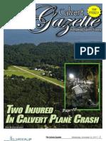 2011-11-23 Calvert Gazette
