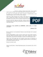 Carta Do Obreiro Para Encontrista[1]