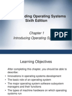 Chapter 1- Introducing Operating System