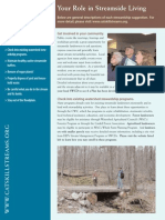 New York; Your Role in Streamside Living, Stewardship Program for Homeowners - Catskill Streams
