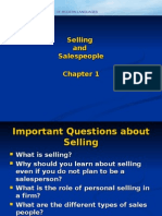 Selling And Sales People