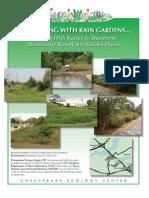 Maryland; Rainscaping with Rain Gardens