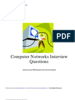 Computer Networks Interview Questions