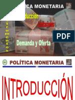 POLITICA MONETARIA-2011