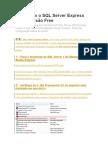 Instal an Do o SQL Server Express 2005