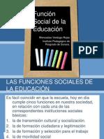 Funcion Social de La Educacion3201