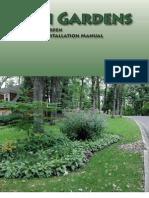Iowa; Rain Garden Design and Installation Manual - Rainscaping Iowa