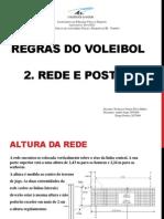 Voleibol - Rede e Postes