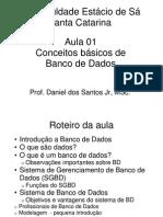 AULA 1 - Introdução a Banco de Dados