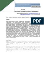 ARTIGO Branding e GC-Aprendizado Da Rotina de Cuidados Esteticos-Miriam Machado-2009[1][1]