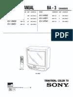 Kv14r20 14rd1 Sony Tv