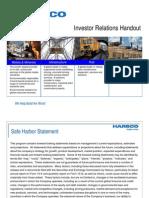 Harsco Investor Presentation