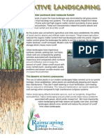 Iowa; Native Landscaping and Reducing Stormwater Runoff - Sioux City