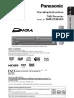 Panasonic Dmr-ez48 User Manual
