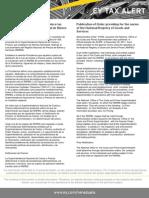 Tax Alert - Providencia Que Establece Los Lineamientos Generales Para Registro Nacional de Precios de Bienes y Servicios