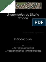 Lineamientos de Diseño Urbano (Localización)