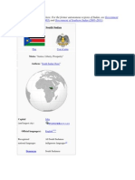 Southern Sudan General View
