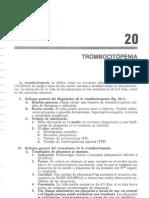 trombocitopenia.