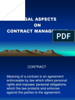 CS MM Exe 02 February SR I 2009s22legal Aspects Contract Mgmnt.