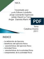 Diapositiva de Educacion Fisica