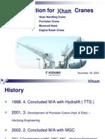 Khan Cranes Presentation