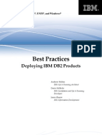 DB2 Best Practices Deploying