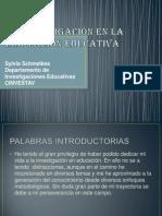 LA INVESTIGACIÓN EN LA INNOVACIÓN EDUCATIVA