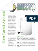 Maryland; Assembly Instructions for Building Rain Barrels - Montgomery County
