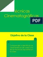 Técnicas Cinematográficas 2°C