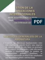 Gestion de La Organizacion Internacional
